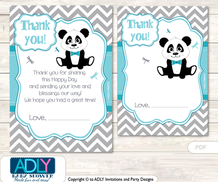 Panda Baby Shower Ideas - Baby Ideas