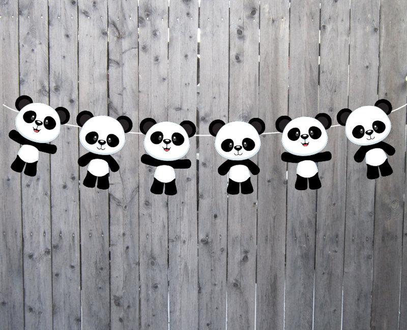Panda Bear Banner,