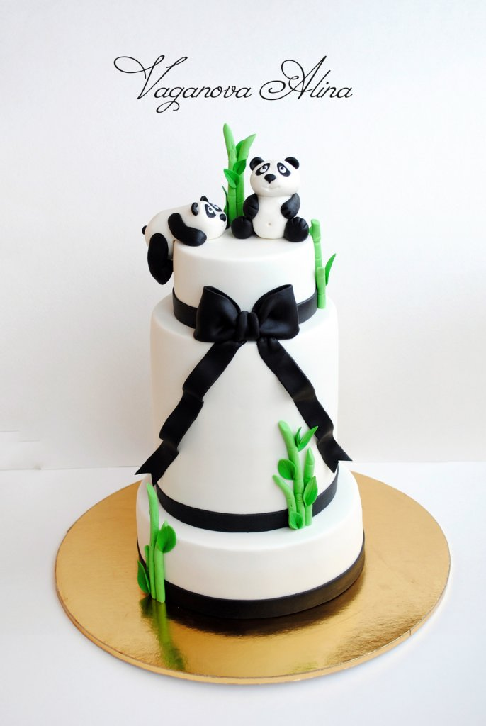 Panda Cake Decorations