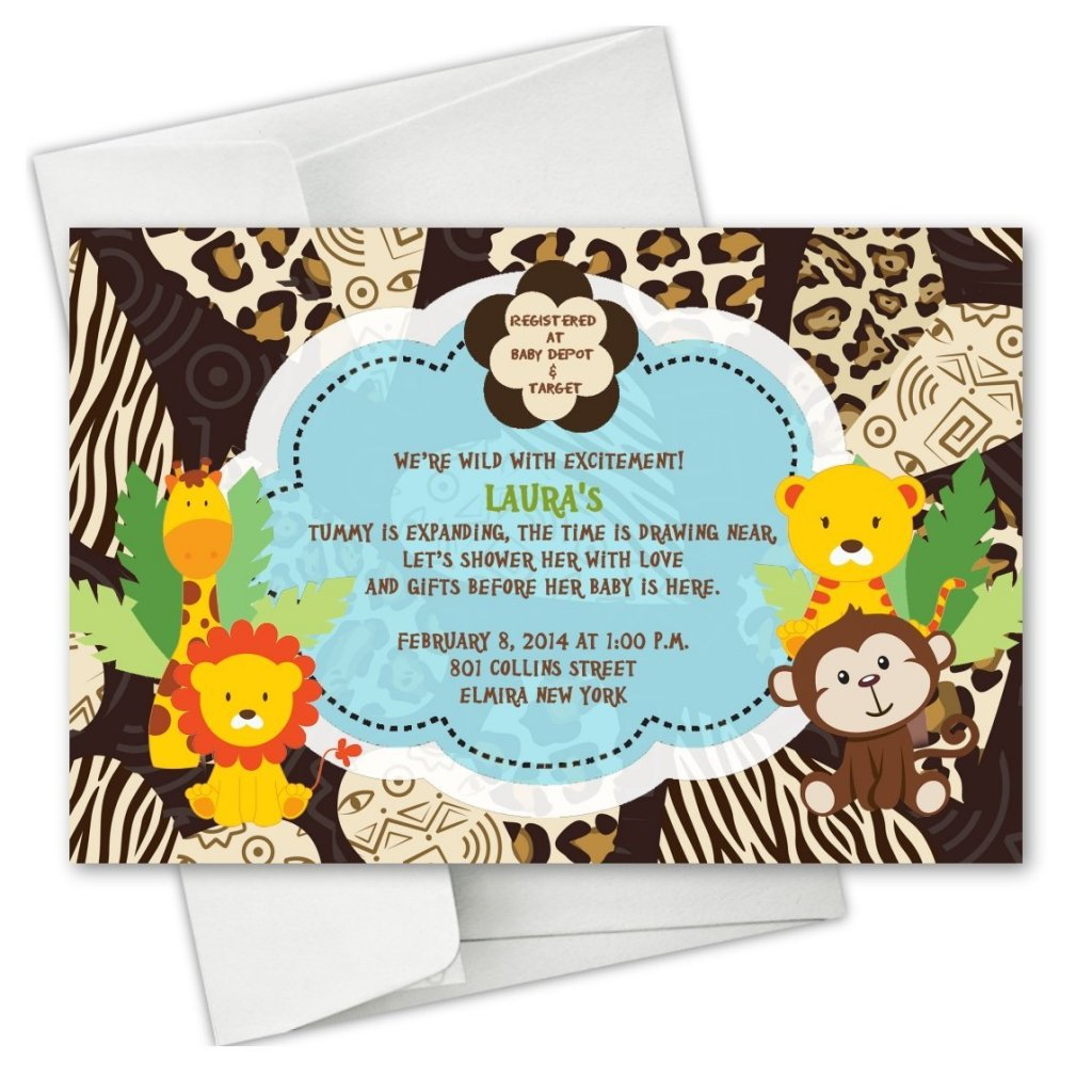Safari Baby Shower Ideas - Baby Ideas
