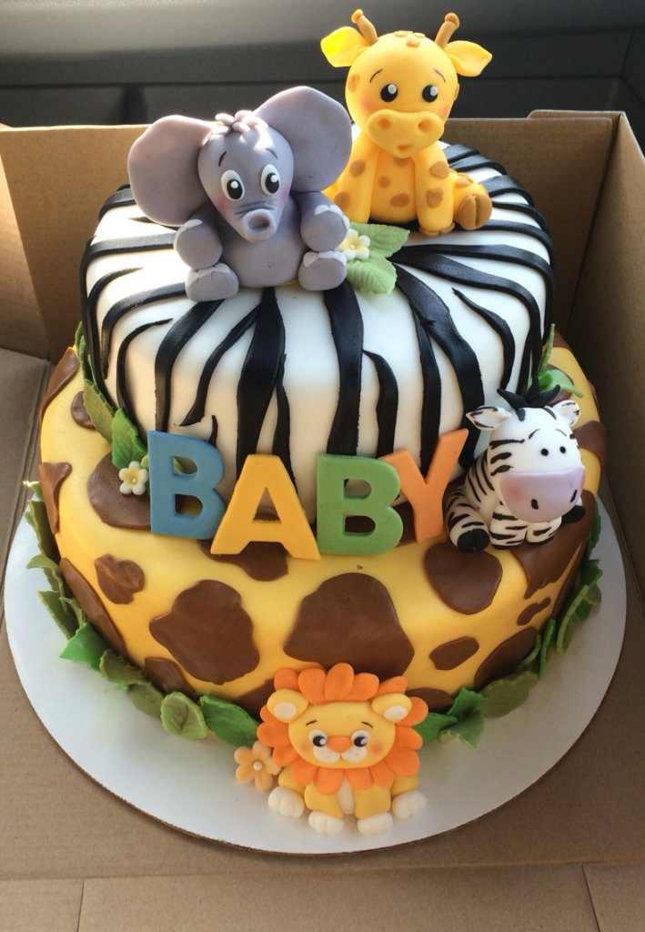 safari baby shower cake pictures to pin on pinterest