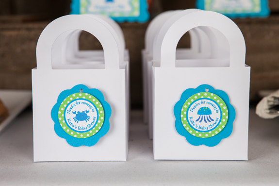 Baby Shower Favors Ocean Theme ~ Under the sea baby shower ideas