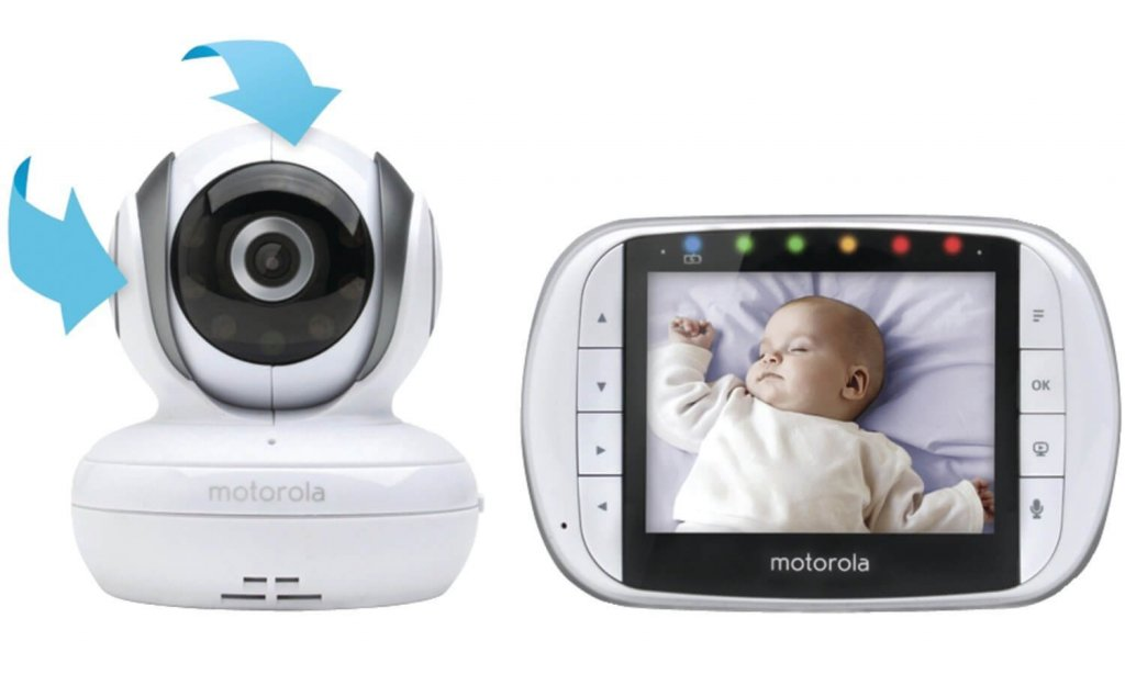 Motorola MBP36S Remote Wireless Video Baby Monitor